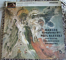 O ALP 1917 MAHLER SYMPHONY No1 KLETZKI VPO HMV GOLD/RED GARROD & LOFTHOUSE c1962