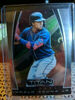 2019 Panini Chronicles Titan 19 Ronald Acuna Jr. - Atlanta Braves