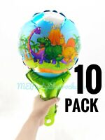 Dinosaur Birthday Party Foil Balloon 10 Pack Decoration Favors FREE SHIPPING!