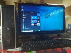 Ordinateur de bureau HP 8300 - Windows 10 - core i5 - 8Go - Disque dur SSD neuf