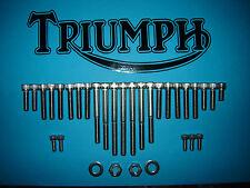 Triumph T100 500cc SS Stainless Engine Allen Vis Kit Housse 69 sur UK