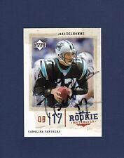 Jake Delhomme signed Carolina Panthers 2005 Upper Deck football card