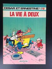César et Ernestine N° 2 La vie à deux  Tillieux EO 1971 PROCHE DU NEUF