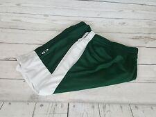 Champion Green White Striped Elastic Waistband Men Basketball Shorts Size XXL