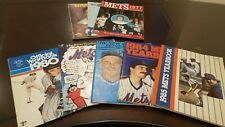 Collection of New York Mets Yearbooks