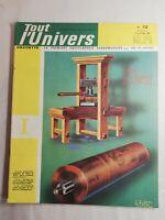 N67 Tout l'Univers Hachette N 72 mars 1964 presse d'imprimerie du début du XVIIe