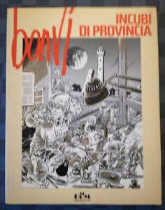 BONVI INCUBI DI PROVINCIA ALBUM MONDADORI Prima edizione 1981