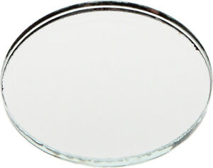 Plymor Round 3mm Non-Beveled Glass Mirror, 1.5 inch x 1.5 inch (Pack of 144)