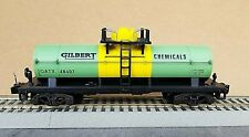 American Flyer #48407 Gilbert Chemical TANKER in C/7 Condition, by Lionel 1996