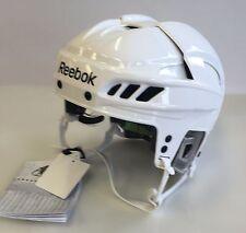 New Reebok 11K NHL/AHL Pro Stock/Return white medium M size ice hockey helmet