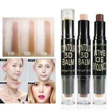 Double Ended Make-up Stick Highlight & Contour Shade Stick Makeup Tool Beauty*