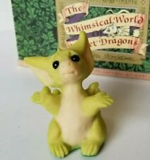"""""""But I'm Too Little"""" Whimsical World of Pocket Dragons by Real Musgrave with Box"""