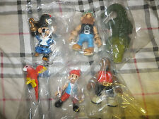 LOT OF 6 PRIATE PVC FIGURES