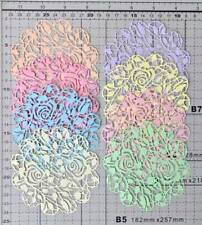 Roses Doily Cut Out 1 pack of 8pcs.