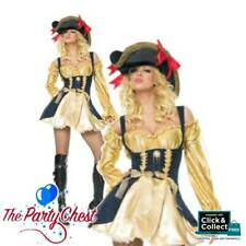 Bucanneer Captain Booty Ravishing Rogue Pirate Costume Wench 8-14 Leg Avenue
