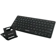 IOGEAR GKB632B Slim Multi-Link Bluetooth Keyboard with Stand