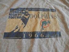 Miami Dolphins Monday Night Football NFL Team Apparel T-Shirt Size Medium