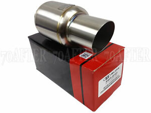 "Blox Racing Mini Race Universal Exhaust Muffler 2.5"" Inlet 3"" Tip"