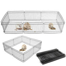 8 Panel Pet Fold Portable Guinea Pig Rabbit /Hamster Garden Play Pen Fence Cage