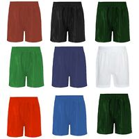 PE shorts Boys Girls Children Shadow Stripe School Gym Sports Football Games