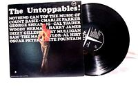 The Untoppables Lp 33 Vinyl Records Verve PM 18 Jazz Assorted Artist