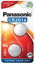 50 x Panasonic CR 2016 3V - 25 x 2er Blister Batterie Lithium Knopfzelle 90mAh