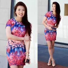 Zara Short/Mini Stretch, Bodycon Floral Dresses for Women