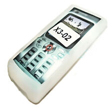 Silicone TPU Phone Cover Case Sleeve Cover Protection in White for Nokia x3-02