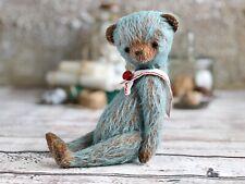 OOAK  teddy bear. Handmade soft sculpture. Artist memory toy. Mohair bear.