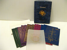 Disneyland NOTECARDS Disney TOMORROWLAND ATTRACTION RIDE - 15 Cards in Box