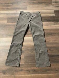 1980s Velvet-y Black Corduroy Pants w double pleated front /& wide wale  men/'s 35-3630 large