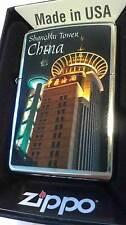 Zippo® Shanghai Tower CHINA TURM Limited Edition  Neu/ New Ovp