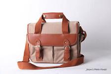 Vintage canvas Leather camera bag Messenger bag for DSLR Camera and lens  03-0361 fc7d1f5d1ef85