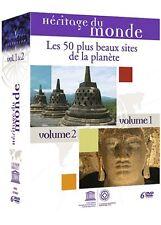Héritage du monde: Les 50 plus beaux sites de la planète -V. 1 & 2 - 6 DVD -NEUF