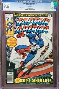 Captain America 225 CGC 9.6 Marvel 1978