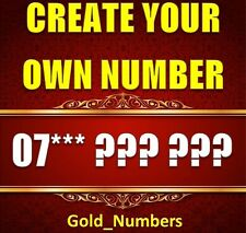 GOLD DIAMOND PLATINUM EASY MEMORABLE GOLDEN MOBILE PHONE NUMBER