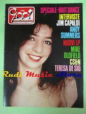 rivista CIAO 2001 28/1983 Teresa De Sio Mike Olfield Greg Kihn Miles Davis No cd