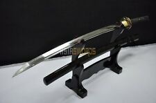 Hand Forged T10 Steel Clay Tempered Japanese Dragon Samurai Katana Sword L264