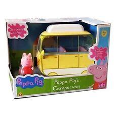Peppa Pig caravanas pequeño Camper Camioneta Peppa Figura Y Accesorios De Juguete Juegp