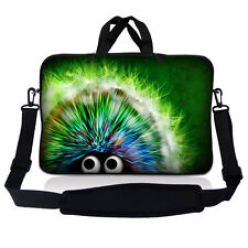 "15.6"" Laptop Sleeve Bag Case w Shoulder Strap HP Dell Asus Acer Hedgehog SP54"