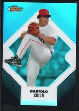 BARTOLO COLON 2006 FINEST #60 BLUE REFRACTOR ANGELS SP #273/299