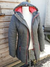 SUPERDRY  LADIES POLAR SPORT WINTER LONG JACKET SMALL