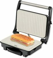 IKOHS Stone Grill 1500 - Sandwichera Grill, 1500 W Revestimiento Cerámica Gris