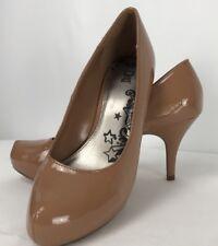 97eb6ca7768d Brash Women 8 M Shoes Beige Platform High Heels Pumps Closed Toe Casual