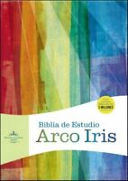 Biblia de Estudio Arco Iris RVR 1960, Piel Imit. Negra  (RVR 1960 Rainbow Study