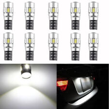 10 X CANBUS ERROR FREE 5630 Projector Lens T10 6SMD LED Bulbs W5W 194 168 6000K
