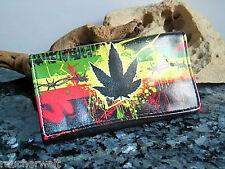 Tabakbeutel Tabaktasche Drehertasche Tabak Etui Tasche Motiv Hanf Cannabis