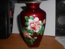 Old Japanese Cloisonne vase