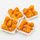 1PCS x Fried Chicken KFC 1:12 Miniature Dollhouse Doll Handmade Food Set A1443