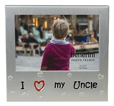 I Love My Uncle Photo Picture Frame Birthday Christmas Fathers Day Gifts Ideas